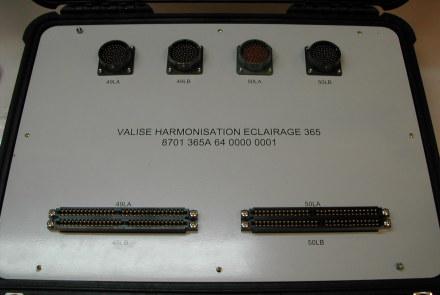 8701365A6400000001 : Valise Harmonisation  Eclairage 365