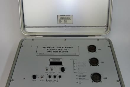 MER813001 : VALISE TEST ALARMES